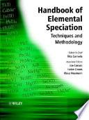 Handbook Of Elemental Speciation book