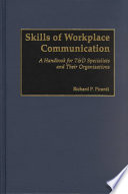 Skills of Workplace Communication