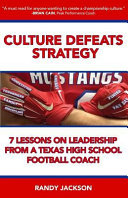Culture Defeats Strategy