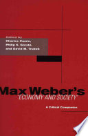 Max Weber S Economy And Society