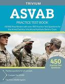 ASVAB Practice Test Book