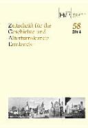 Zeitschrift für die Geschichte und Altertumskunde Ermlands