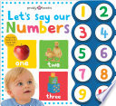 Simple First Words Let s Say Our Numbers