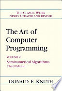 Art of Computer Programming  Volume 2