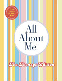 All about Me Teenage Edition  The Story of Your Life