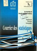 Courrier des statistiques