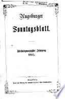 Augsburger Sonntagsblatt für Unterhaltung in Ernst und Scherz