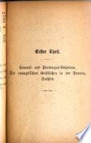 Pfarrer-Jahrbuch der Evangelischen Kirche der Kirchenprovinz Sachsen