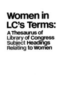 Women in LC s Terms Book PDF