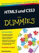 HTML5 und CSS3 f  r Dummies