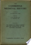 Ebook The Cambridge Medieval History Epub Joan Mervyn Hussey Apps Read Mobile