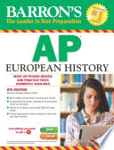 Barron s AP European History  8th edition