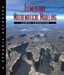 Elementary Mathematical Modeling
