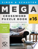 Simon Schuster Mega Crossword Puzzle Book 16