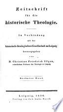 Zeitschrift fur die Historische Theolgie