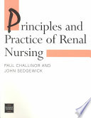 Principles And Practice Of Renal Nursing book