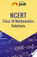NCERT Class 10 Mathematics Solutions