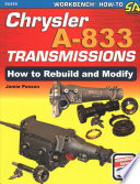 Chrysler A 833 Transmissions