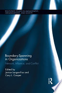 Boundary Spanning in Organizations