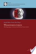 Wissenskulturen. Bedingungen wissenschaftlicher Innovation