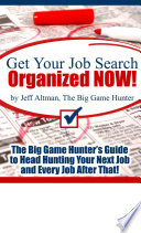 Get Your Job Search Organized NOW