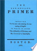 The New England Primer Book PDF