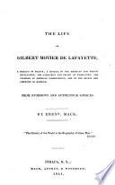 The Life of Gilbert Motier de Lafayette
