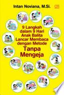 9 Langkah dalam 9 Hari Anak Balita Lancar Membaca dengan
