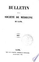 Bulletin de la société de médecine de Gand