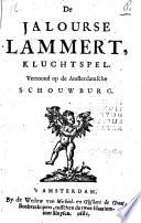 De jalourse Lammert