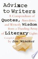 Advice to Writers