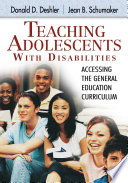 Ebook Teaching Adolescents With Disabilities: Epub Donald D. Deshler,Jean B. Schumaker Apps Read Mobile