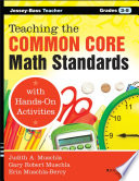 Teaching the Common Core Math Standards with Hands On Activities  Grades 3 5