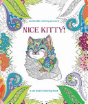 Zendoodle Coloring Presents Nice Kitty