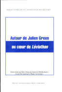 Julien Green. Oeuvres complètes, tome III