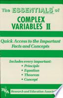 Complex Variables II Essentials