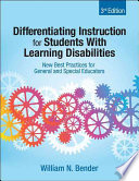 Differentiating Instruction for Students With Learning Disabilities