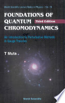Foundations of Quantum Chromodynamics