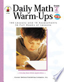 Daily Math Warm Ups  Grade 4