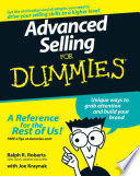 Advanced Selling For Dummies