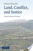 Land  Conflict  and Justice