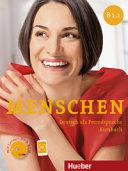 Menschen B1 1  Kursbuch  Per le Scuole superiori  Con DVD ROM  Con espansione online
