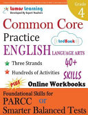 Common Core Practice   4th Grade English Language Arts