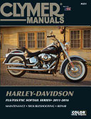 Harley Davidson FLS FXS FXC Softail