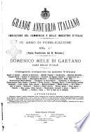Annuario storico statistico commerciale di Bari e provincia