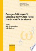 Omega 6 omega 3 Essential Fatty Acid Ratio