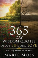 Wonder  365 Days Wisdom Quotes About Life and Love