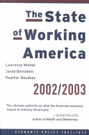 The State of Working America  2002 2003