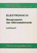 Baugruppen der Mikroelektronik