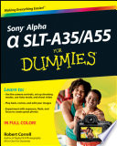 Sony Alpha SLT A35   A55 For Dummies